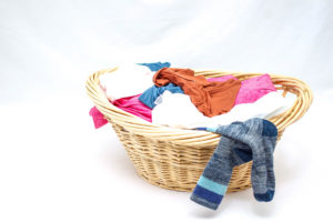 removing odor from clothes