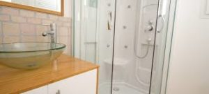 how to clean fiberglass shower