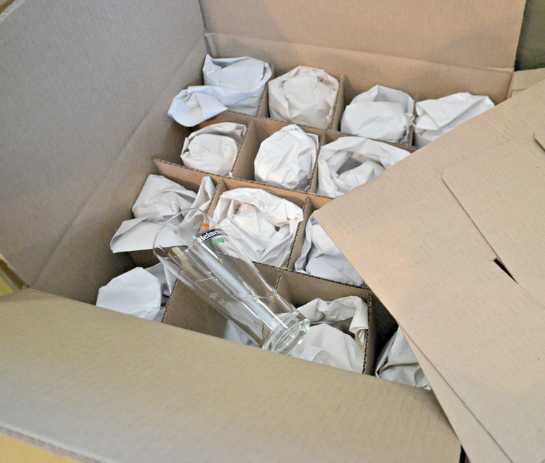 Step by Step Guide to Packing Fragile Glassware