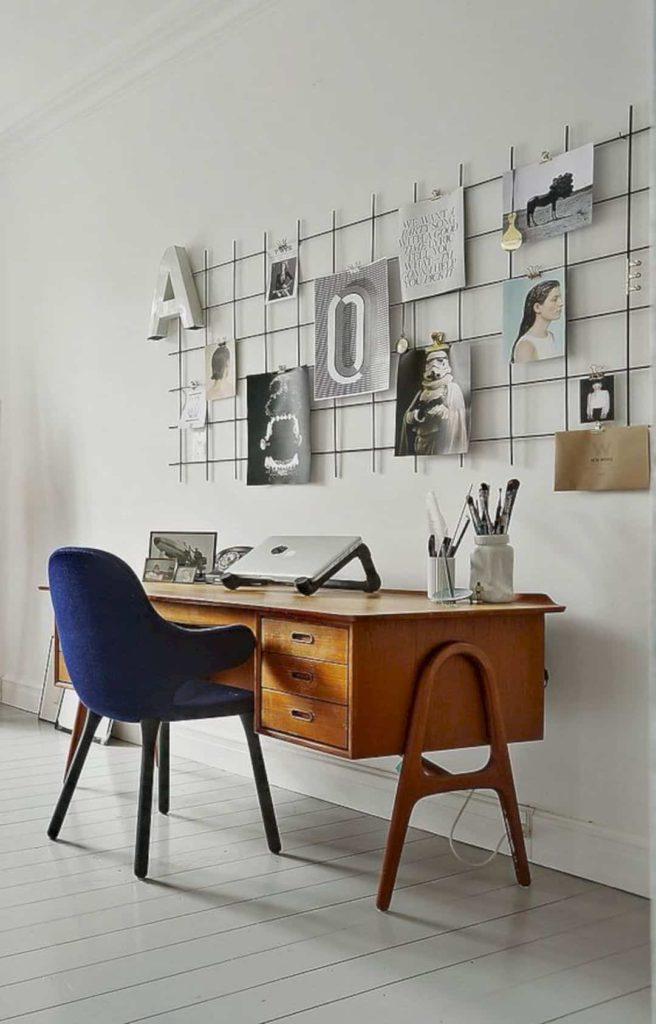 Elegant Office Wall