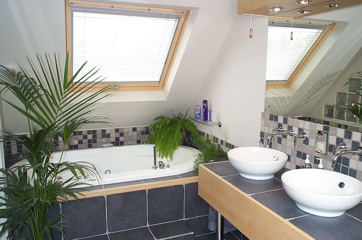 Beauteous Attic Bathroom Designs To Inspire Your Renovation