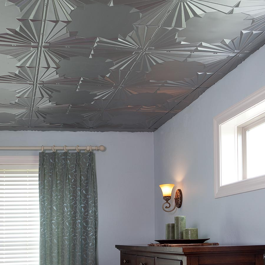Fascinating Bathroom Ceiling Tile Ideas To Add Charm