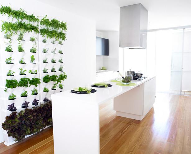 Vertical Garden Planters For Chic Green Indoors